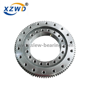 Single Row Four Point Contact Ball slewing bearing working principle