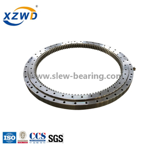 Xuzhou Wanda Single Row Four Point Contact Ball Slewing Bearing (Q) Internal Gear